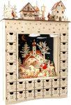 Téli Álom világító fa adventi kalendárium
