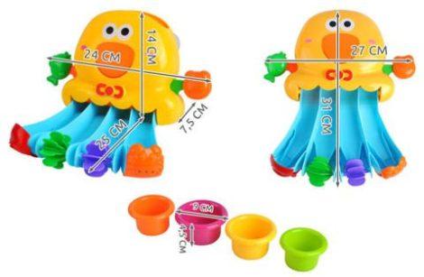 Csúszdás vizi játék  fürdőszobai játék  baba játék