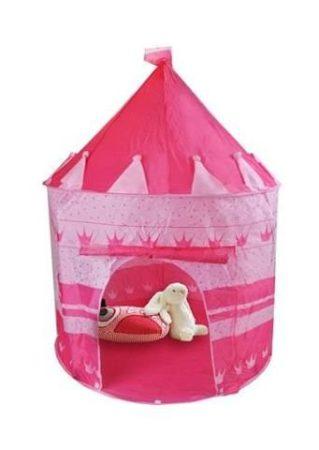 Rózsaszín játszó sátor gyerek sátor Princess