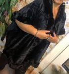 Női ponchó fekete új női felső