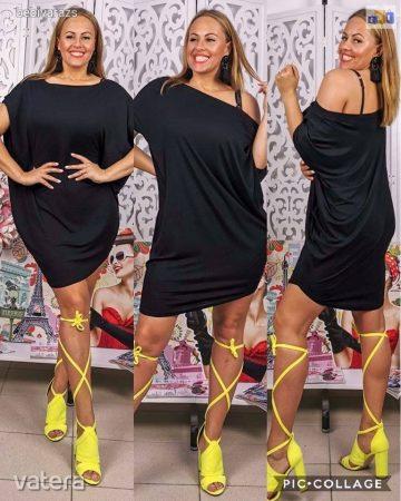 Lezser női tunika XL-XXL fekete